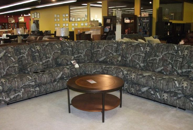 Reclining Camo Sectional Furniture World Galleries A Furniture And Mattress Store Serving