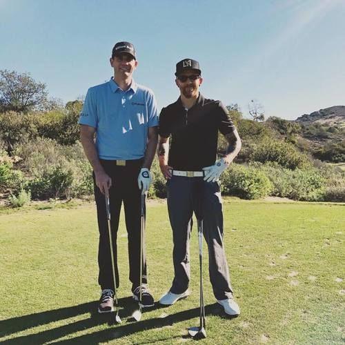 Phoenix golfing with PGA Tour pro Brendan Steele. Linkin Park, December 2016