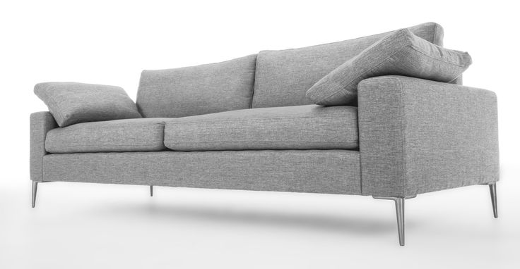 Nova Winter Gray Sofa - Sofas - Article | Modern, Mid-Century and Scandinavian Furniture