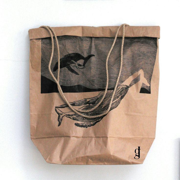 #paper #papier #bag #torba #worek #whale #fala #myproject #beach #sea #sunny #dyplom #fashion #future #wave #moda #poland #linocut #jagrafka #artist #art🎨 #art #holiday #grafika #graphics #druk #bag👜