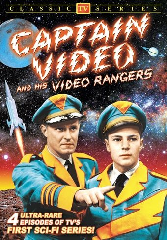 Captain Video and His Video Rangers DVD (1949) - Television on Starring Don Hastings; Directed by Larry White; Starring Hal Conklin; Alpha Video | OLDIES.com
