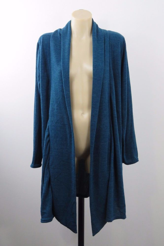 NWOT Size XL 16 Ladies Duster Cardigan Tunic Top Vintage Boho Chic Work Design #Style #Duster #Casual