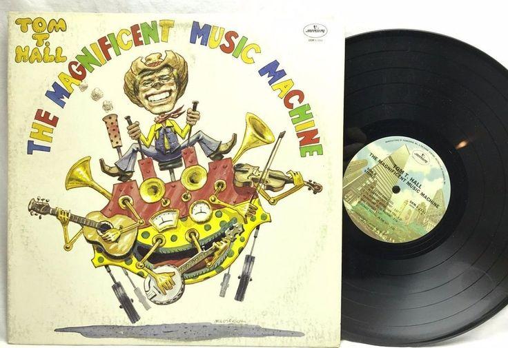 Tom T Hall - The Magnificent Music Machine Warner SRM-1111 Vinyl Record LP Album stores.ebay.com/capcollectibles