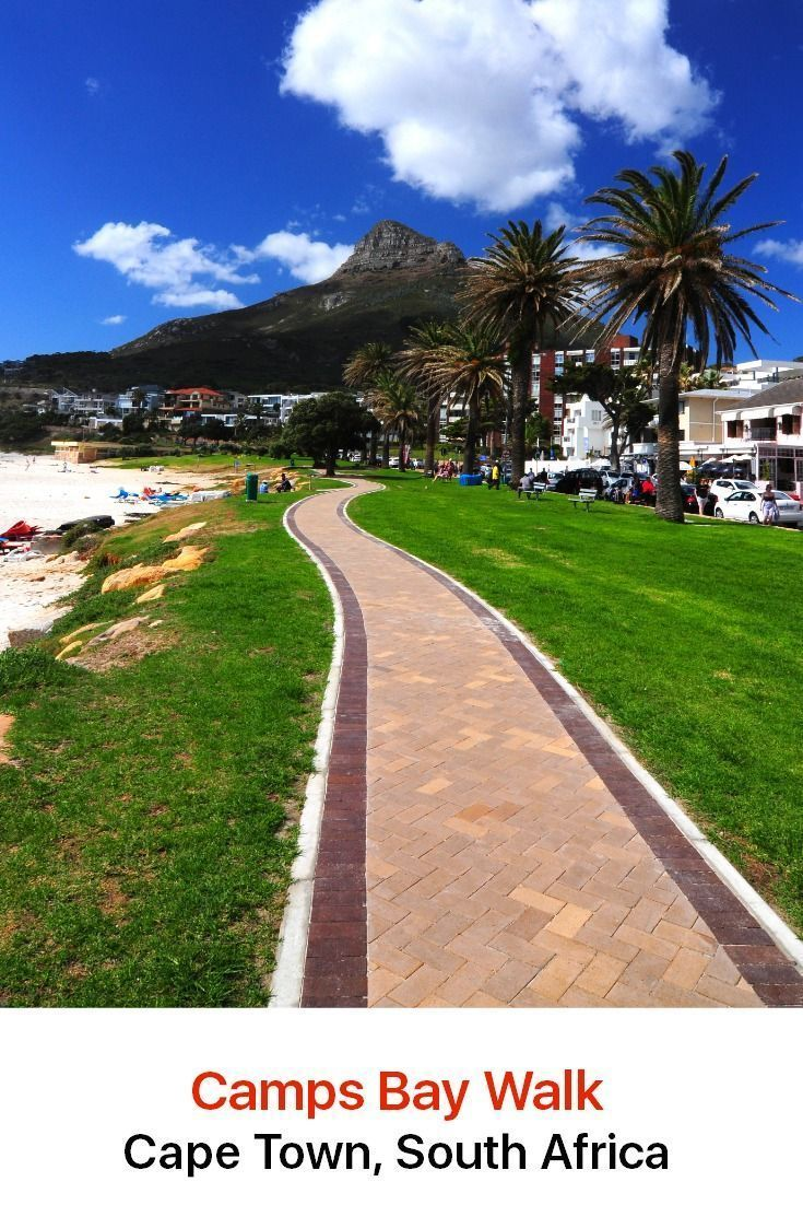 Cape Town, South Africa Discovery Walk: Camps Bay Walk