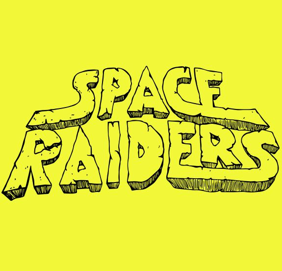 Space Raiders crisp on Behance