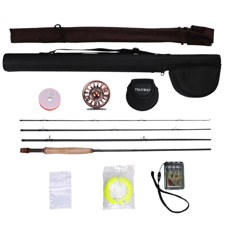 139.00$  Buy here  - New Fly Fishing Rod Combo Set Kit Aluminum Alloy Fly Reel + 2.4/2.7/3.0M Rod+Line+Fly Lure+Bag
