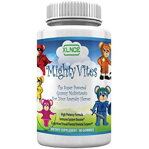 CHILDREN MULTIVITAMIN GUMMIES by XLNCE - Gummy Vitamins Boost Immune System Health in Kids, Toddlers, Teens, Men & Women. Best Natural Chewable Multivitamins Supplement Raw Paleo Diet Foods for Daily Nutrition. Add Multi Vitamin Items to Cart NOW! Rating 4.8 out of 5 stars, 101 customer reviews