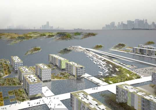 MOMA Exhibit Offers Real Solutions to NYC's Rising Tides