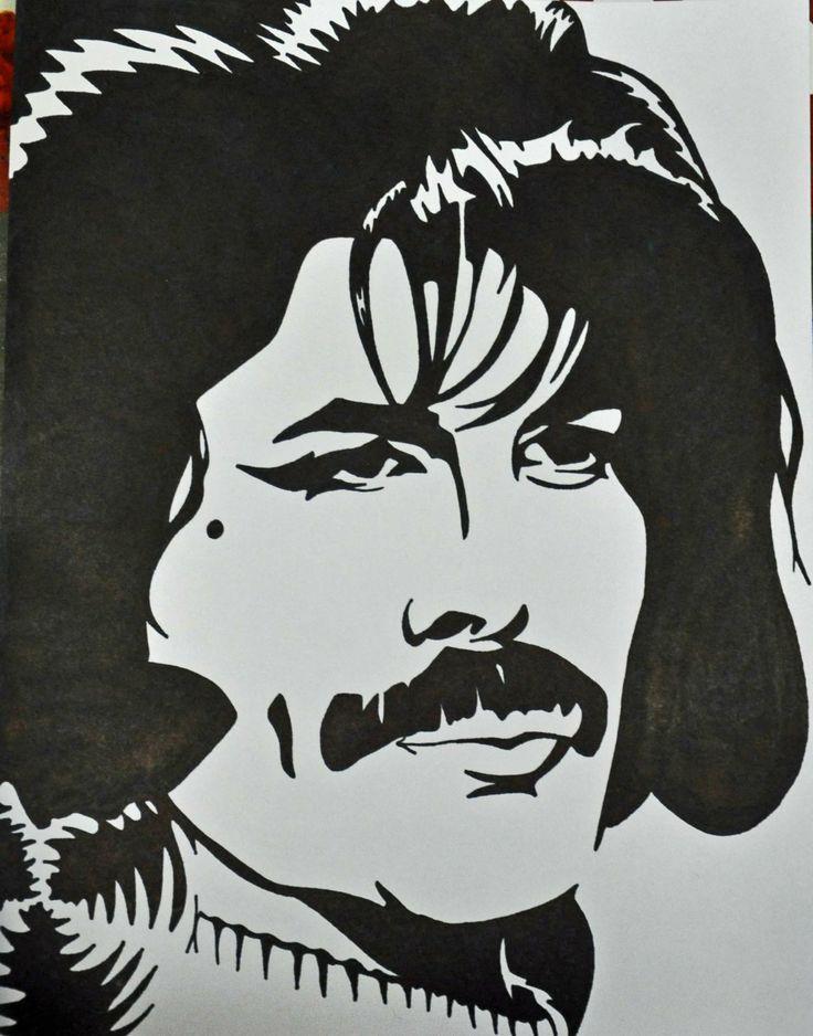 Freddie+Mercury+Sharpie+Drawing+by+allenspearsart+on+Etsy ...
