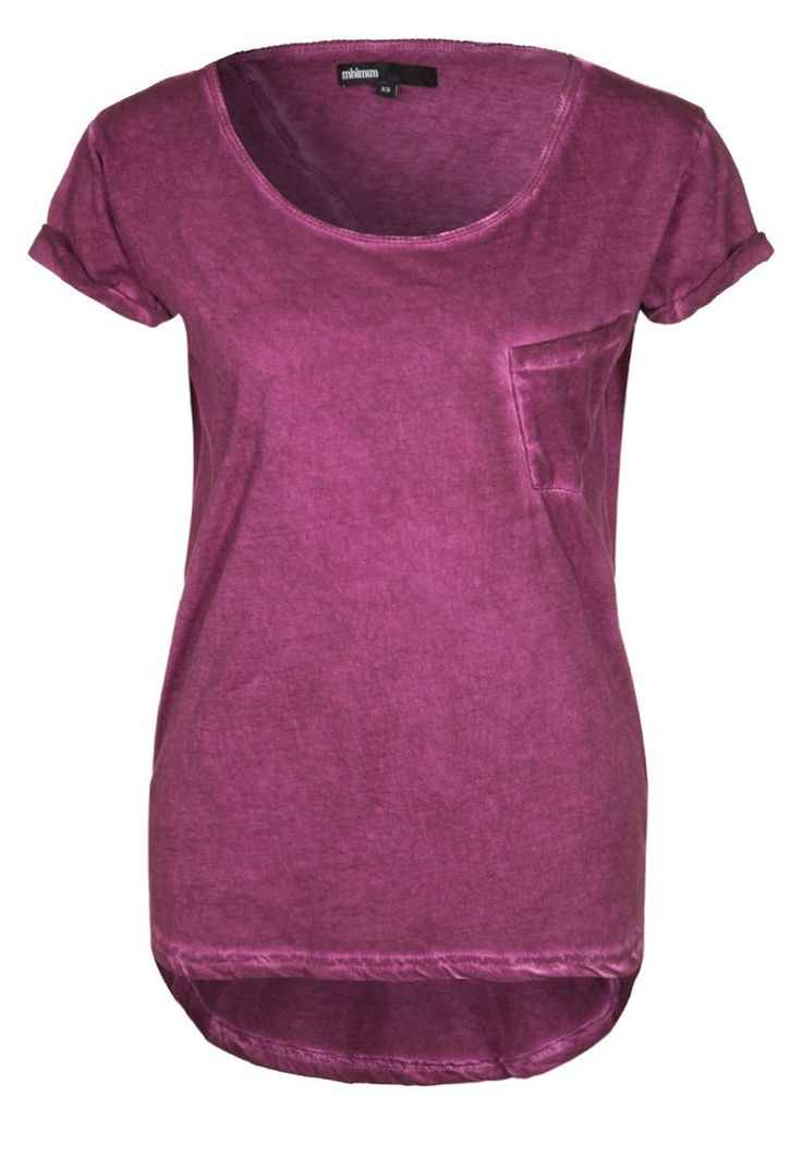 Minimum - DAWN - T-shirt - bas - Lila -zalando