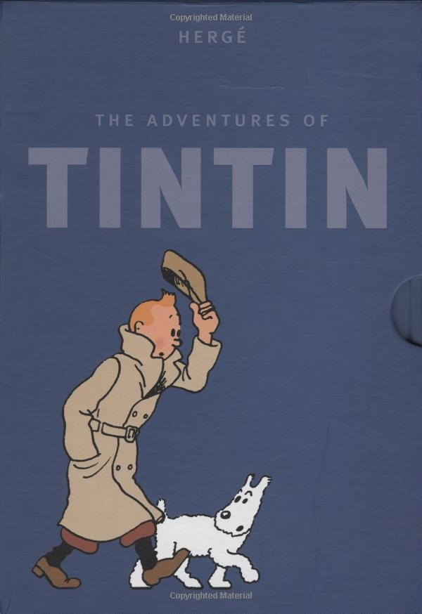 Finally am diving deep into the world to TINTIN
