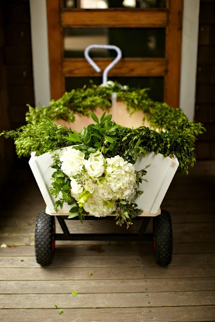Flower Girl / Ring Bearer Wagon  if __ is not walking on his/her own yet!!