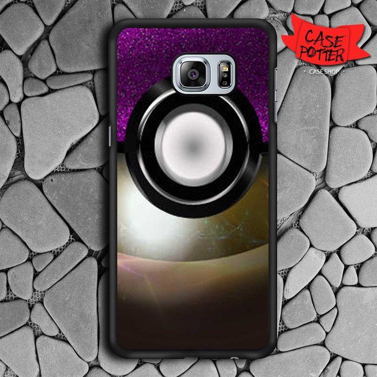 Pokemon Samsung Galaxy S6 Edge Plus Black Case