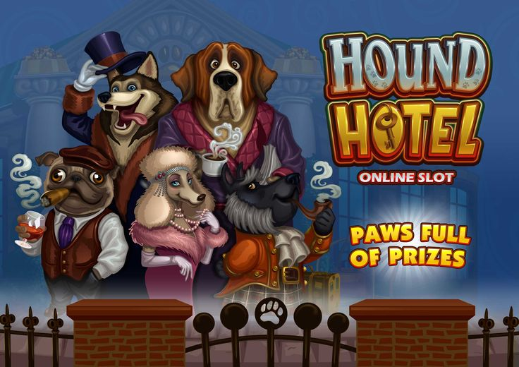 Hound Hotel Online Slot launched at Euro Palace Casino in June, play now at www.europalace-casino.com