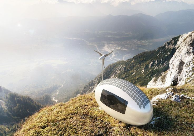 Live Anywhere in the World with a Solar-Powered Ecocapsule