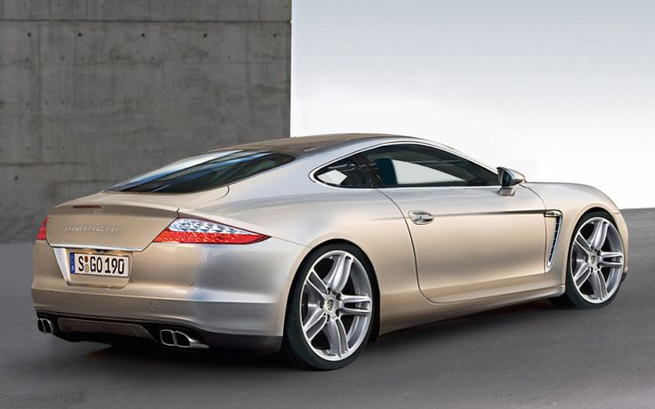 2 Door, Panamera based, 928 concept is oh, so beautiful.