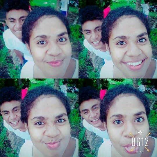 with ma favorite boy.. i luv him soooo much.. but he's not my boy friend..