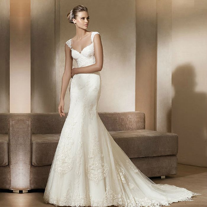 childhood dream of many women is the fairy-tale latest wedding dress ...