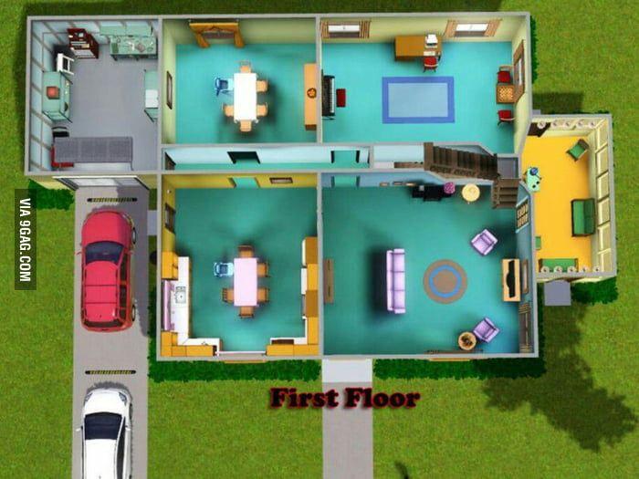 Image Result For Family Guy House Floor Plan House Floor Plans House Layouts Family Guy