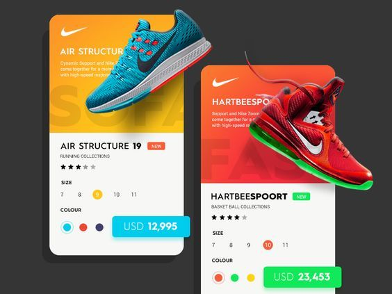 This is the follow-up shot to Daily UI #4 - Nike. just