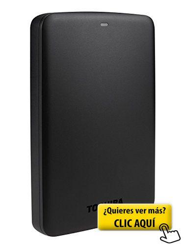 Toshiba Canvio Basics - Disco duro externo de 500... #informatica