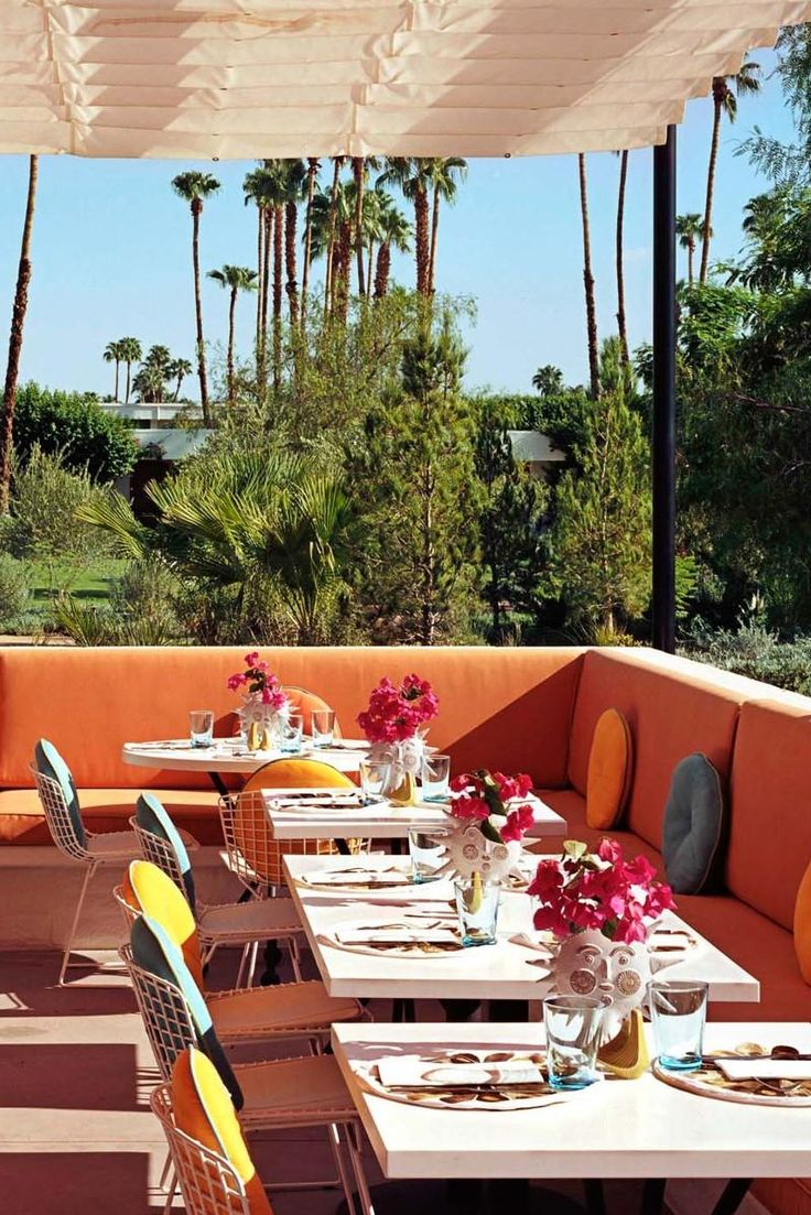 Norma's is a fantastic al fresco brunch spot, with a bright style and sunny views. Parker Palm Springs (Palm Springs, California) - Jetsetter