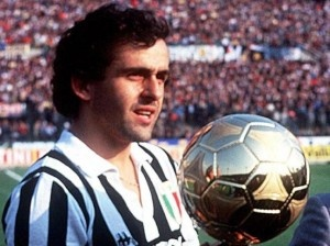 Michel Platini (Juventus. France). Ballon d'Or 1984.