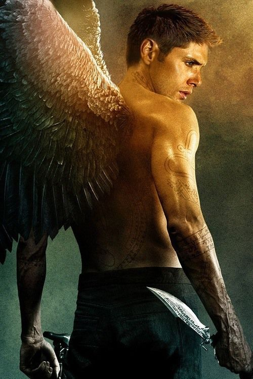 Angel Dean Winchester….I love this one! One of the best fics I ever read was On The Wings of War. YES!: