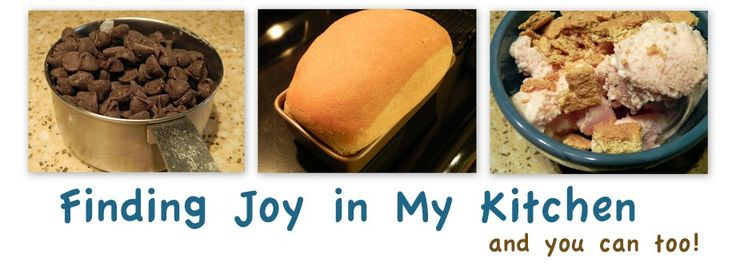 Finding Joy In My Kitchen - great food blog and haven't tried a recipe yet that family hasn't liked!  :)