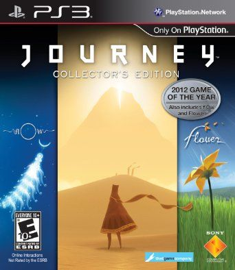 Journey Collector's Edition - Playstation 3 --- http://www.amazon.com/Journey-Collectors-Edition-Playstation-3/dp/B008CP6RWU/ref=sr_1_40/?tag=triniversalne-20