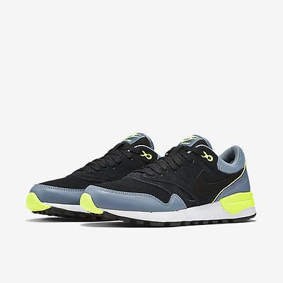 Nike Air Odyssey LTR Black/Gray/Volt Mens Running Training Shoes
