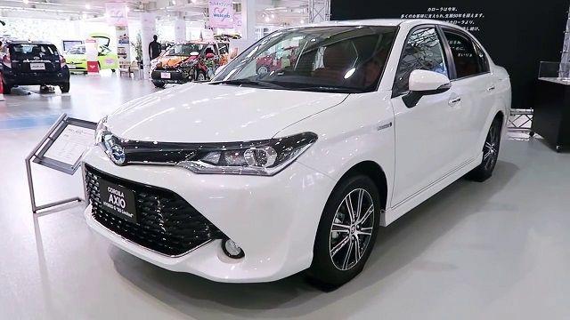 The 2018 Toyota Corolla Axio Hybrid Already Came To Market Besides