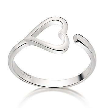 Silver Rings Simple, Heart Jewelry, Heart Rings, Wedding Bands, Heart Silver Bracelet, Heart Jewellery, Toes Rings, Rings I Love Fashion Sweets, Promise Rings