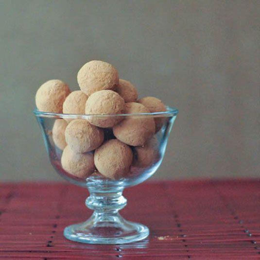 Chocolate Bourbon Caramel Truffles | Yummy :) | Pinterest
