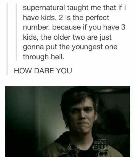 Supernatural teaches wise things
