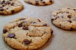 Foto de la receta de galletas con chips de chocolate