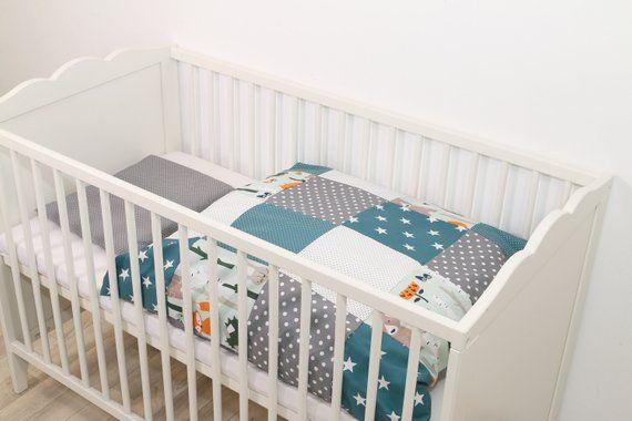 Ullenboom Baby Bettwasche Bettbezug Set 80 X 80 Cm Waldtiere