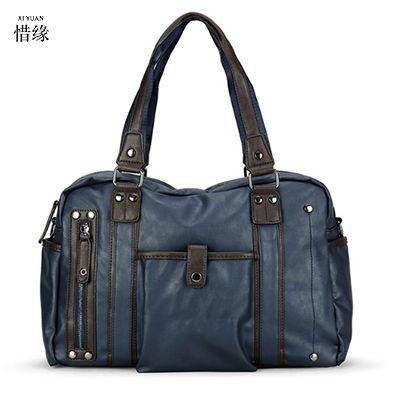 XIYUAN 2017 new men handbag man large big capacity Travel luggage bags men Multi-functional leisure crossbody bags male handbags