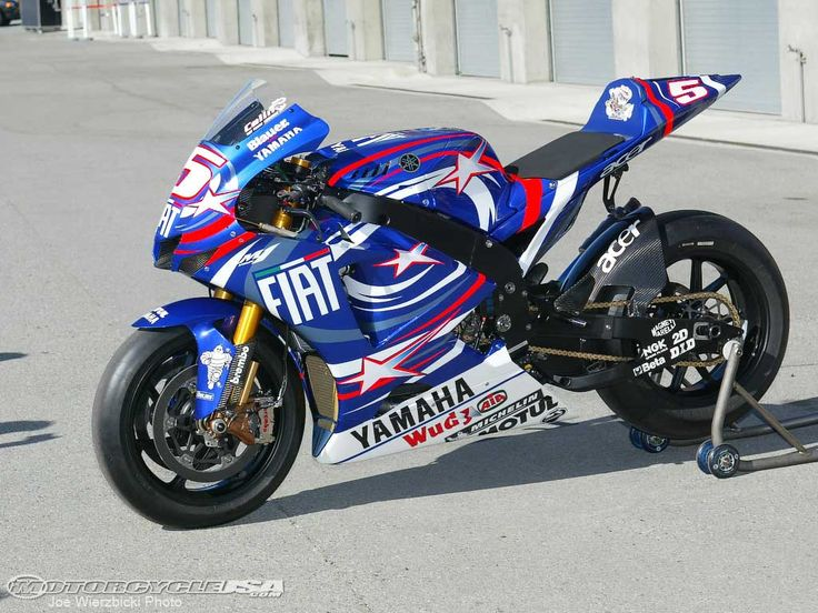 2007 MotoGp Yamaha..Best paint they ever did