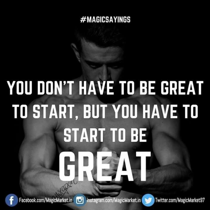 Every winner is once a beginner #MagicSayings Like : http://buff.ly/2oeKy4h #WorkoutWednesday #Wednesday #Workout #Fitness #Gym