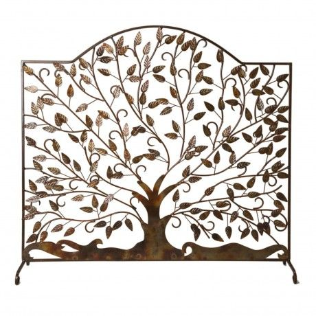 Leaves of Flame Fire Screen. Decorative Fireplace ... - 17 Best Images About Fireplace Alternatives On Pinterest Silver