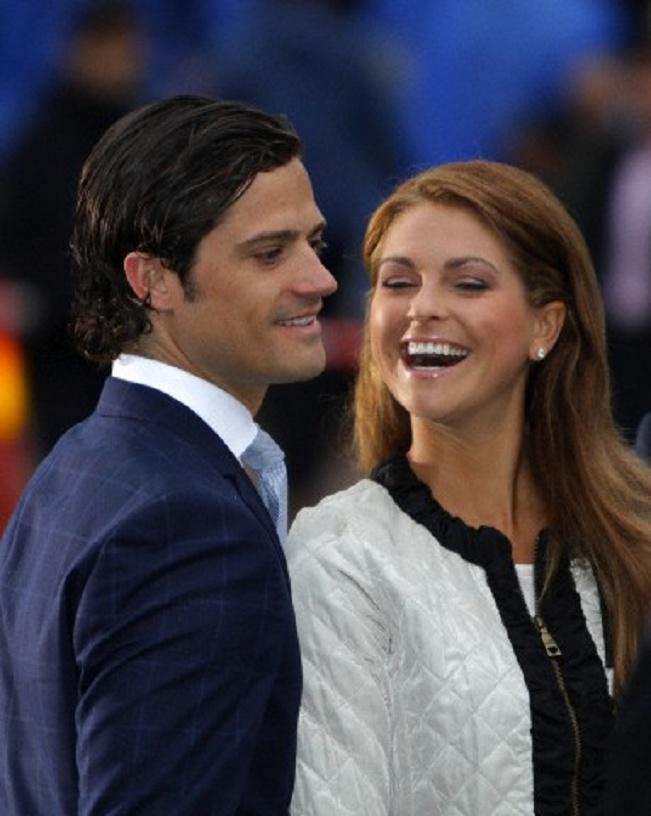 カール・フィリップ王子と、マデレーン王女【スウェーデン】