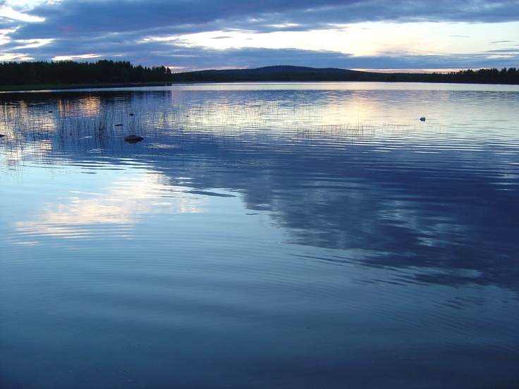 No wonder Finns love spending time at a cottage by a lake.