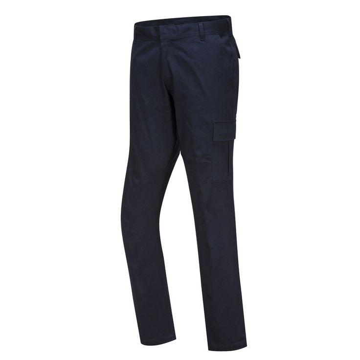 Pantalón Stretch Slim Combat Azul marino oscuro.