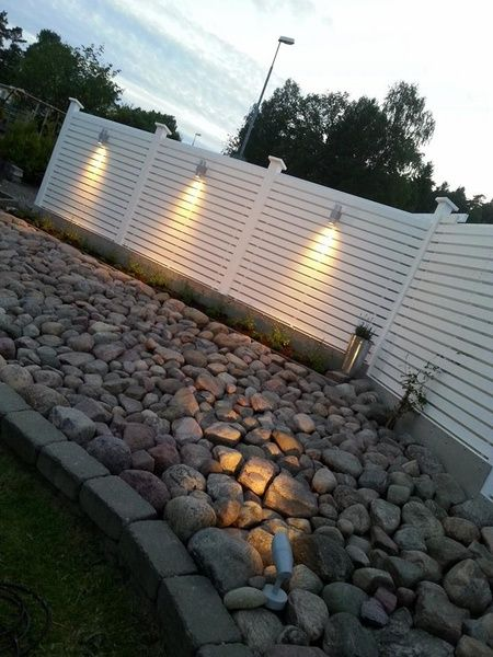 plank,trädgård,stenparti