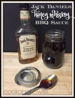Jack Daniels Honey Whiskey BBQ Sauce