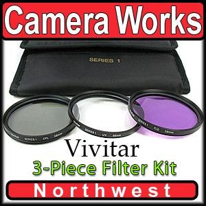 4 Piece 52mm Filter Set for Nikon D50 18 55mm VR Lens | eBay $15.95