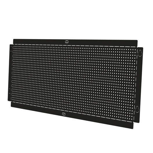 Panneau porte-outilsen acier époxy Hubsystem SPACEO, l96xH40xP0.01cm