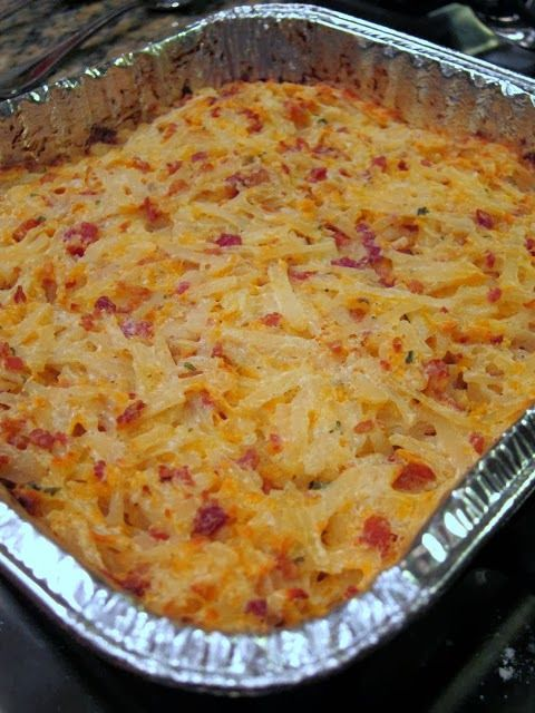 Crack Potatoes 2 (16oz) containers sour cream 2 cups cheddar cheese, shredded