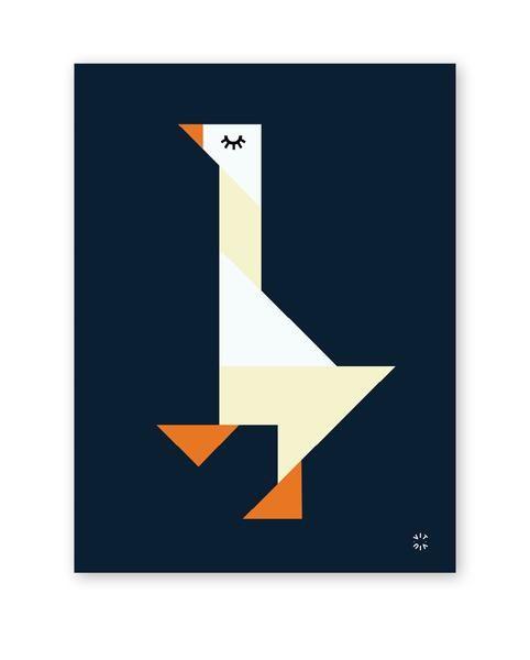 TANGRAM poster - Goose